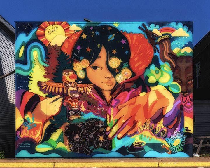 Eva-Bracamontes-street-art-mural-Festival-Inspire-Canada