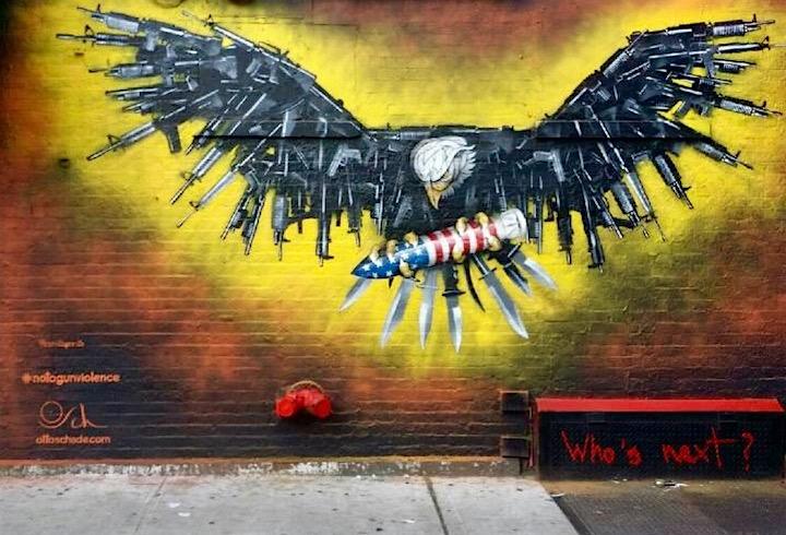 Politically & Socially Conscious NYC Street Art w/ Otto Schade & more