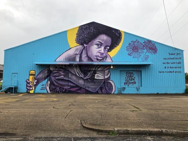 New Orleans Street Art & Graffiti: Bmike, Reader, You Go