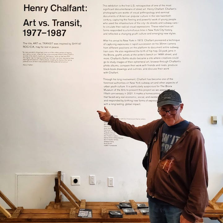 """""""Henry Chalfant: Art vs. Transit"""" Continues at the The Bronx Museum"""